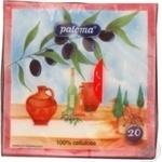 Салфетка Палома бумажная для сервировки 20шт 110г Словения