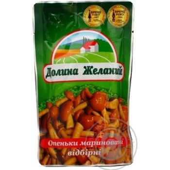 Dolyna Bazhanʹ Marinated mushrooms 200g - buy, prices for Furshet - image 1