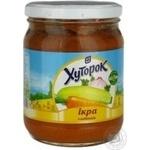 Vegetables Khutorok vegetable sterilized 510g glass jar Ukraine