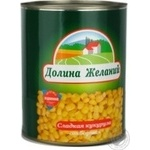 Vegetables corn Dolina jelaniy canned 680g can