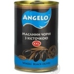 olive Angelo black with bone 425ml can Spain