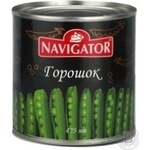 Vegetables pea Navigator pea 420g can Hungary
