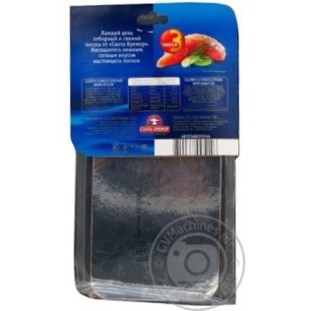 Семга Санта Бремор филе кусок слабосоленая 300г - купить, цены на Novus - фото 2