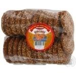 Печенье Ржищев Овсяное кунжут 400г полиэтиленовый пакет Украина