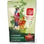 Green pekoe tea Nebesnaya Pagoda big leaf 80g Ukraine