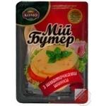 Сыр Мой бутер с ветчиной плавленный 45% 150г Украина