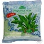 Сіль для ванн морська Бажана Зелений чай 500г х30 - купити, ціни на МегаМаркет - фото 1