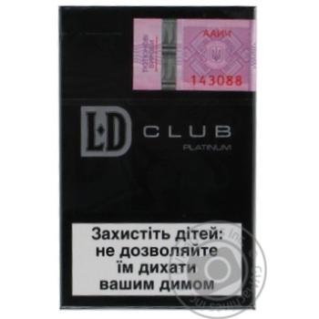 Цигарки LD Club Platinum