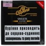 Сигара Al Capone Sweets Filter - купить, цены на Novus - фото 2