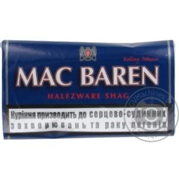 Табак Mac Baren Halfzware shag 40г