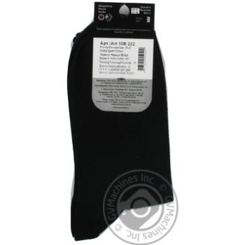 Шкарпетки Дюна  чоловічі чорні 25р - купити, ціни на Фуршет - фото 2