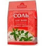 Сіль для ванн Морська натуральна Чайне дерево 500г х28