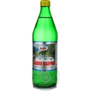 Вода Магріт Поляна Квасова сильногазована лікувально-столова 0,5л - купити, ціни на МегаМаркет - фото 1