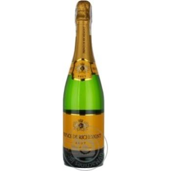Игристое шампанское Принц ричмонд белое брют 11.5% 750мл Франция