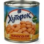 Vegetables kidney bean Khutorok canned 425ml can