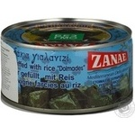Vegetables Zanae rice canned 280g can Bulgaria