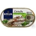Fish herring Kaija pepper in oil 170g can