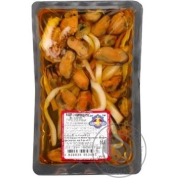 Seafood Tsar-ryba seafood pickled 180g Ukraine
