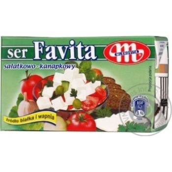 Сыр Mlekovita Фета Фавита 40% 270г