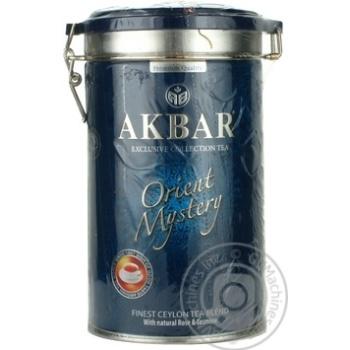 Чай Akbar Orient Mystery смесь черного и зеленого чая 200г