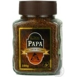 Кофе Папа натуральный растворимый сублимированный 100г Колумбия