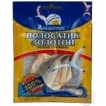 Полосатик золотой Альбатрос солоно-сушений 18г Україна