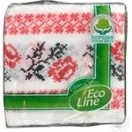 Серветки паперові Eco Line із зображенням 24*25см 40шт