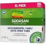 Tablet Sodasan for the dishwasher 55pcs