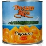 Fruit peach Dolce vita in syrup 2650ml can Greece