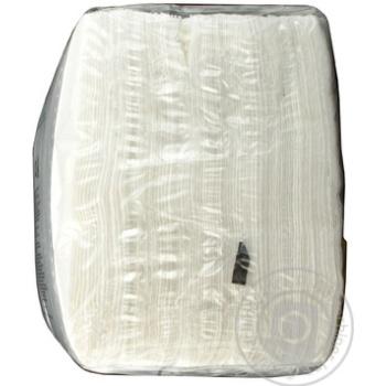 Салфетки Ruta Duo белые бумажные 1-слойные 24*24см 200шт - купить, цены на Novus - фото 3