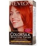 Фарба для волосся Revlon ColorSilk 45 Яскраво-рудий 4BR