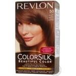 Фарба для волосся Revlon ColorSilk 50 Світлий попелясто-каштановий 5А