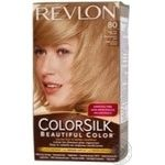 Фарба для волосся Revlon ColorSilk 80 Світлий попелястий блондин 8А