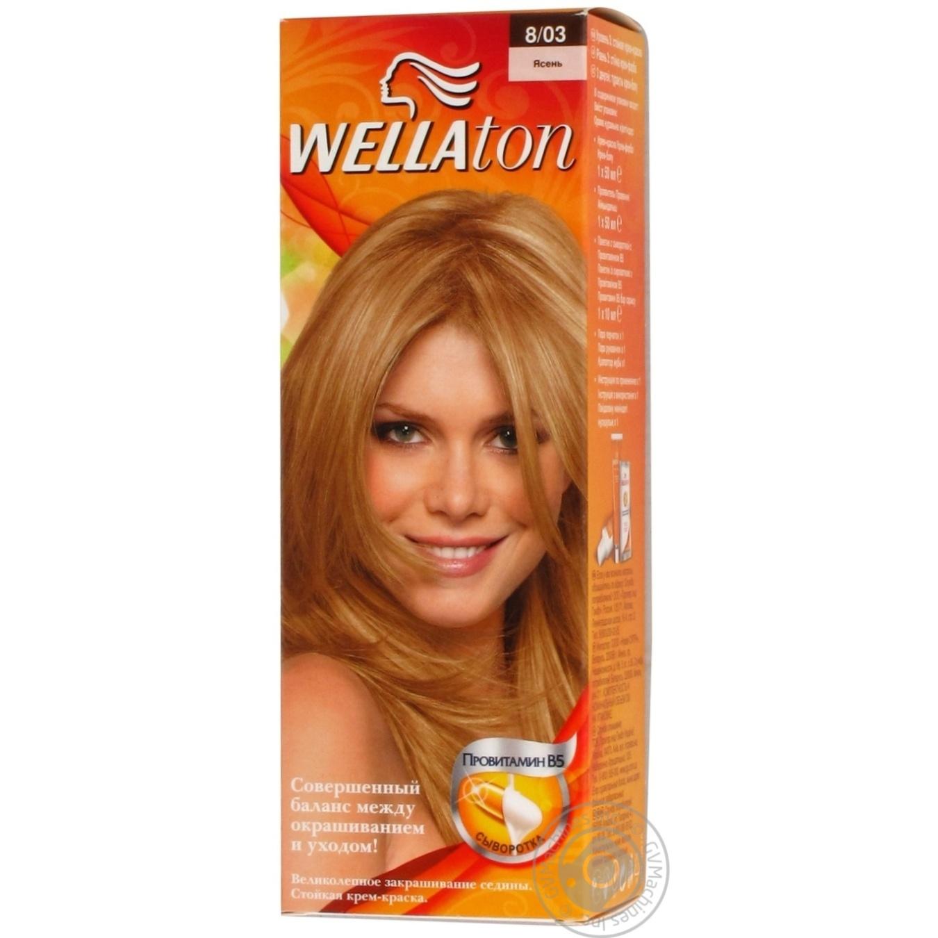 Фарба для волосся Wellaton Maxi Single 8/03 Ясен ...