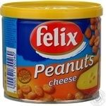Snack peanuts Felix with cheese salt 120g can Poland