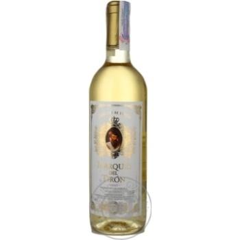 Вино белое Marques De Tiron полусладкое 11% 750мл Испания