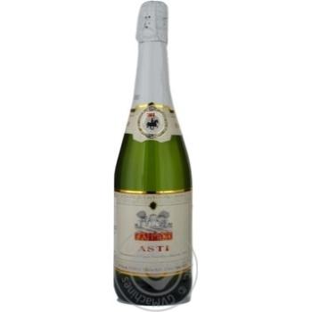 Вино игристое мускат белое сухие 7.5% 750мл Пьемонт Италия