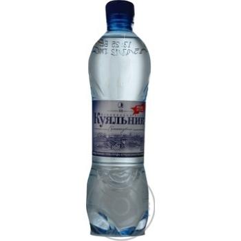Вода Куяльник сильногазированная лечебно-столовая пластиковая бутылка 500мл Украина
