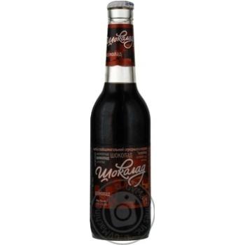 Напій Росинка Шоколад слабоалкогольний середньогазований 7%об. 330мл