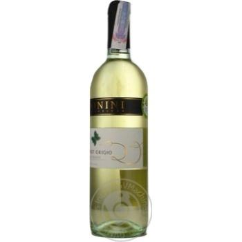 Вино Donini Pinot Grigio Provincia di Pavia біле сухе 12% 0,75л - купити, ціни на МегаМаркет - фото 5