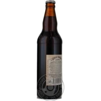 Пиво Вильнюс Алус Сенойо темное пастеризованное стеклянная бутылка 5.6%об. 500мл Литва - купить, цены на Novus - фото 3