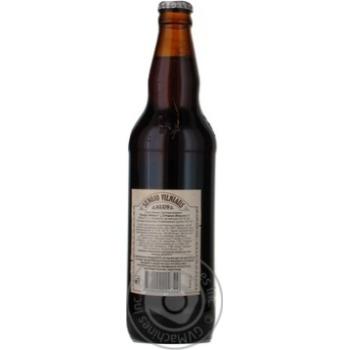 Пиво Вильнюс Алус Сенойо темное пастеризованное стеклянная бутылка 5.6%об. 500мл Литва - купить, цены на Novus - фото 7