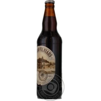 Пиво Вильнюс Алус Сенойо темное пастеризованное стеклянная бутылка 5.6%об. 500мл Литва - купить, цены на Novus - фото 6