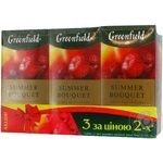 Набір чаю трав'яного Summer Boujuet Greenfield 1,5г*25шт 2+1