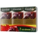 Набір чаю трав'яного Spring Melody Greenfield 1,5г*25шт 2+1