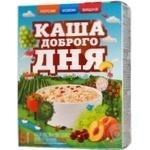 Каша Амо Доброго дня вівсяна персик, вишня, ізюм 40г х 5шт Україна