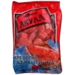 Креветки Акула Атлантические 50/70 варено-мороженые 900г Украина