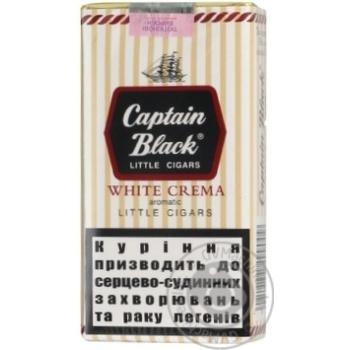 Сигары Captain Black Little Cigars White Crema 20шт