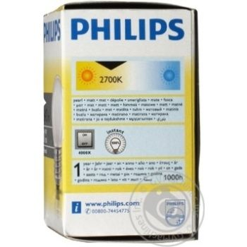 Philips Incandescent Lamp P45 60w E27 - buy, prices for Novus - image 6