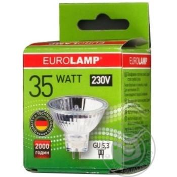 Лампа галогенна Eurolamp MR 16 35W 230V GU5.3 артикул SG-35162